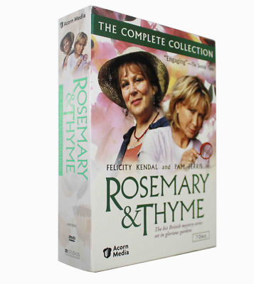 Rosemary & Thyme Complete Collection(DVD, 2018, 7-Disc Set) Brand New Sealed