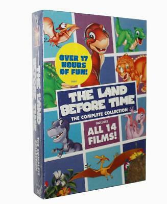 The Land Before Time The Complete Collection(DVD, 2018, 8-Disc Set)brand new