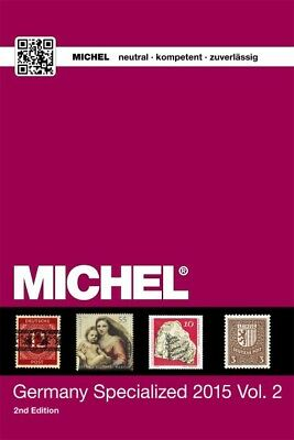 Michel Germany Specialized Catalogue 2015/2016, Vol. 2 – Deutschland-Spezial-Kat
