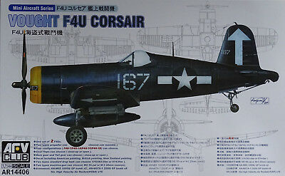 AFV CLUB 14406 Vought F4U Corsair in 1:144