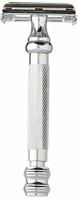Eco-Friendly PARKER SAFETY RAZOR 99R  + 5 Shark DE Blades and FREE DELIVERY