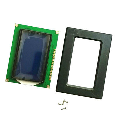 ST7920 128x64 LCD Display Blue Backlight Parallel Serial for Arduino 5V NEW