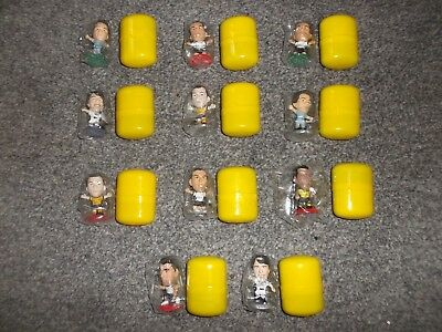 11 Corinthian Microstars Figures - Away Kits