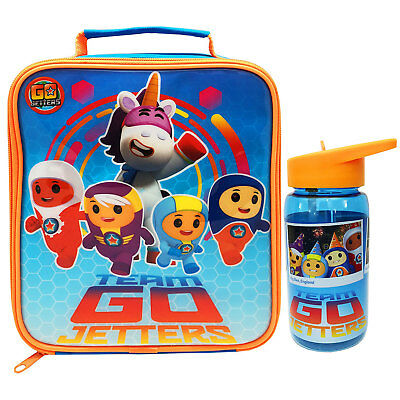 Go Jetters Lunch Bag and Tritan Drinks Bottle *BRAND NEW*