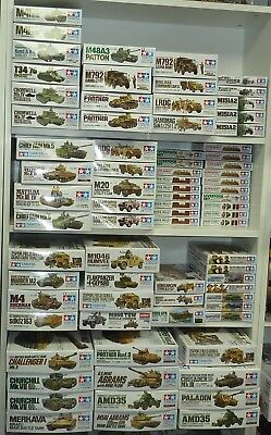 Large Collection Of Tamiya 1:35 Scale Military Kits - Boxed New Take Your Pick