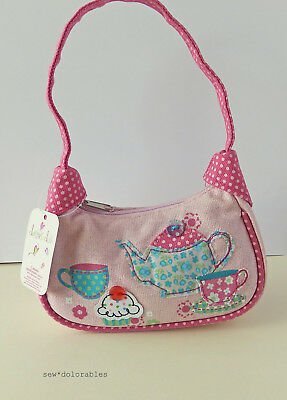 Claire's Club ~ Little Girl Sparkly Teapot Purse ~ NWT
