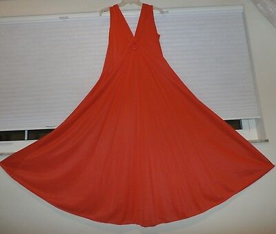 """Vintage Deena 159"""" Sweep Nylon Nightgown--Size-Med."""