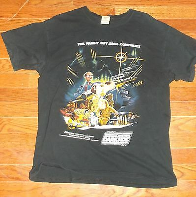 The Family Guy Saga Continues T-Shirt - Large, Dark Side