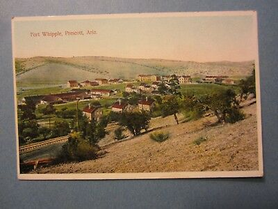 Old Vintage  c.1910 - PRESCOTT ARIZONA - POSTCARD - Fort Whipple