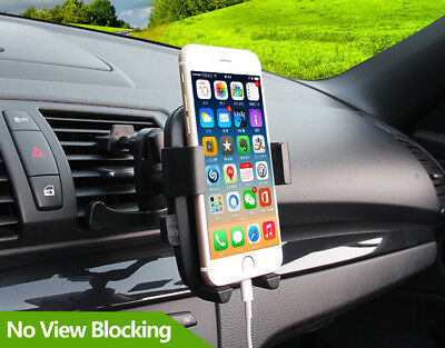 Universal Rotate Car Mount Holder Stand Air Vent Cradle For Mobile Cell Phone