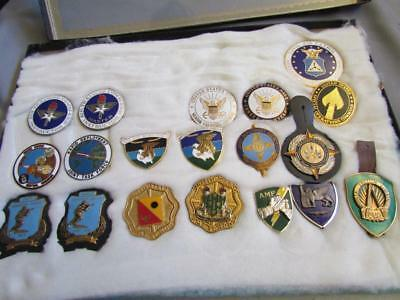 Lot Military Breast Badges