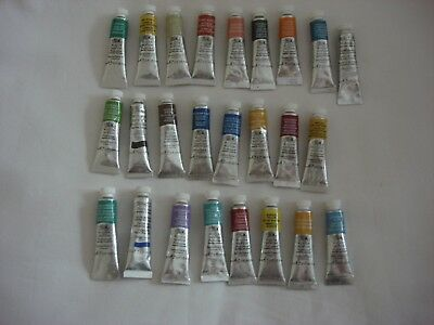 25 X Winsor & Newton Professional Water Colour Paints 5ml...NEW.