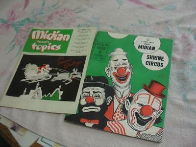 1958 Wichita,Ks Median circus Program