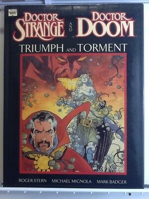 Marvel Comics Dr. Strange And Dr. Doom Triumph And Torment HC Graphic Novel