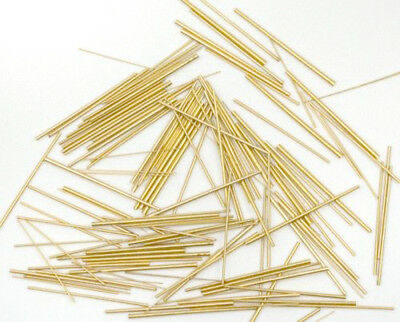 Watch Band Link Pins Tapered Conical Brass Nickel Pin Assortment