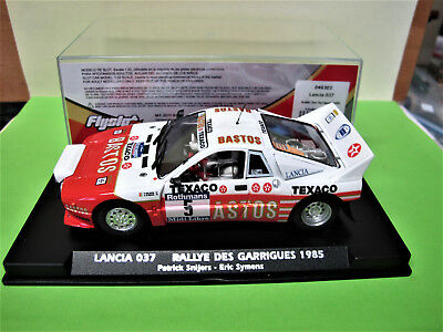"""Flyslot  Lancia 037  #5  """" Rally des Garrigues 1985 """"   046303  Limited Edition"""