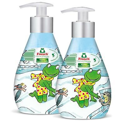2x Frosch Reine Pflege Kinder Sensitiv-Seife 300 ml