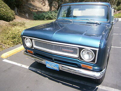 1971 International Harvester 1210 IH, 1210 Pickup Truck/ Like Chevy C-10 1971 INTERNATIONAL HARVESTER 1210 PICKUP TRUCK,RESTORED CALIFORNIA TRUCK