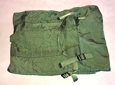US Military Issue Nylon OD Green Tentage Repair Kit Case Bag 8340-00-270-1334