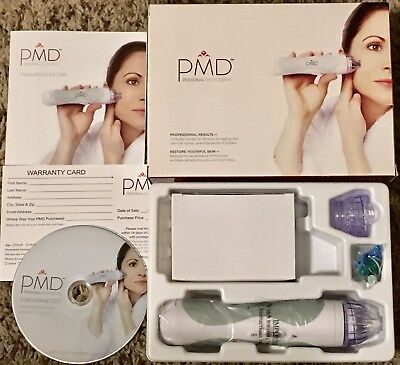 PMD Personal MicroDerm Microdermabrasion System 6911031 Age Sciences New Kit