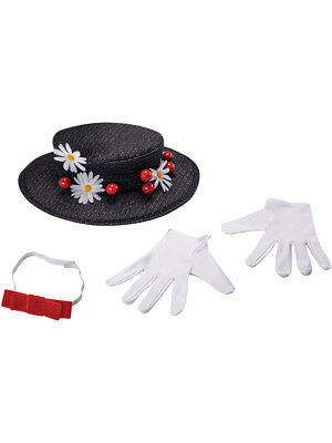 Adult's Womens Mary Poppins Costume Accessory Kit