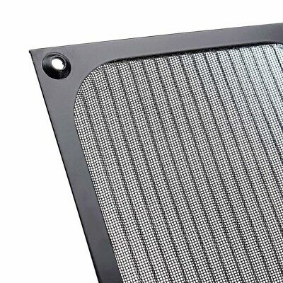 120mm Computer PC Fan Cooling Dustof Dust Filter Case Aluminum Grill Useful