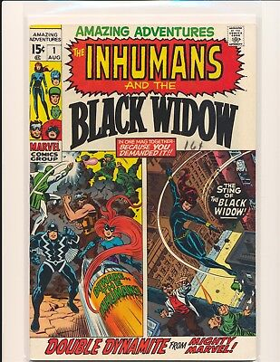Amazing Adventures # 1 - Inhumans & Black Widow Fine+ Cond.