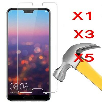 5X Screen Protector Tempered Glass  For Huawei P Smart Mate 10 P20 P30 Lite Pro
