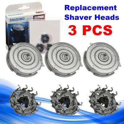 3Pcs Replacement Shaver Heads for Philips NORELCO SpeedXL SmartTouchXL HQ9 Razor