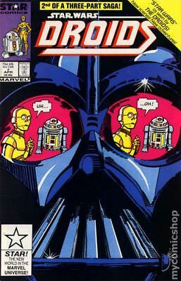 Star Wars Droids (1st Series Marvel/Star Comics) #7 1987 FN+ 6.5 Stock Image