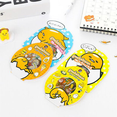 50 PCS/Pack Gudetama Lazy Egg Sealing Stickers Diary Label Stickers Pack Decor