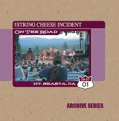 String Cheese Incident - Otr: Mt Shasta Ca Archive CD Sci Fidelity NEW