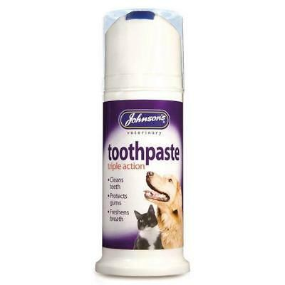Johnson's Triple Action Pet Toothpaste 50g OUT OF DATE 06/2018