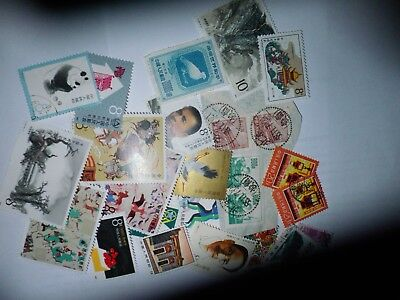 1945-88: Kleines Lot CHINA mit Blöcken, small lot of stamps and miniature sheets