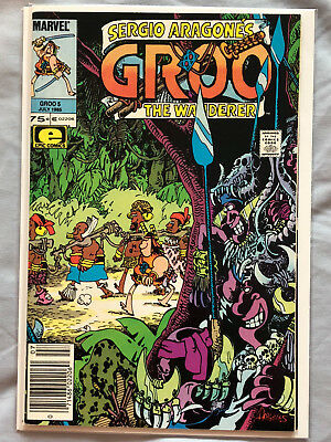 Groo the Wanderer #5 (1985) by Sergio Aragones from Marvel and Epic Comics