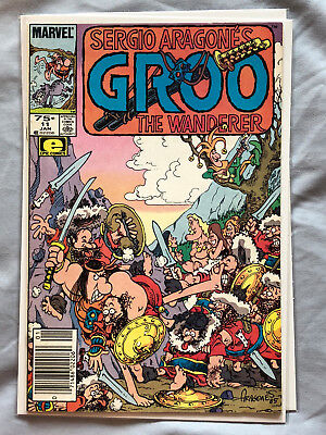 Groo the Wanderer #11 (1986) by Sergio Aragones from Marvel and Epic Comics