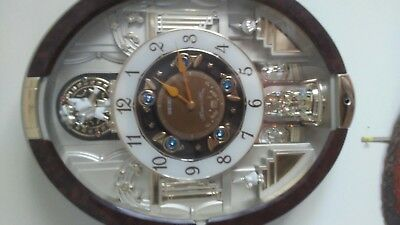 RARE Seiko Melodies In Motion Special Collectors Edition QXM487BRh GORGEOUS