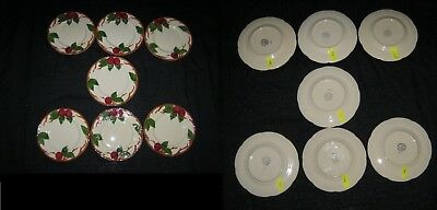 "8"" 1953-58 FRANCISCAN APPLE HAND DECORATED PLATE UNUSED MINT Winner Picks One"