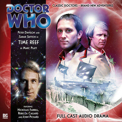 Doctor Who Big Finish Audio CD #113 - TIME REEF (Factory Sealed - New) Davison