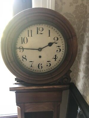 Granddaughter Antique Scotish Drum Clock, Spares or Repair