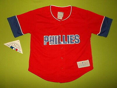 NEW Jersey PHILADELPHIA PHILLIES (6/7 years) GENUINE MERCHANDISE #26 C. UTLEY