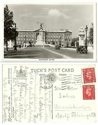 GB 303 - (London) Buckingham Palace, gelaufen 1951