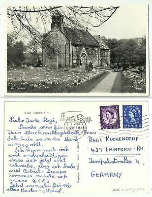 GB 314 - Adel - Church, gelaufen 1967