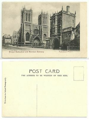 GB 332 - Bristol - Cathedral and Norman Gateway, ungelaufen