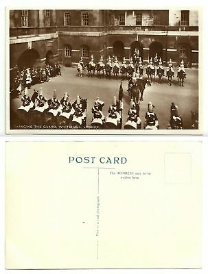GB 357 - Changing the Guard, Whitehall, London, ungelaufen