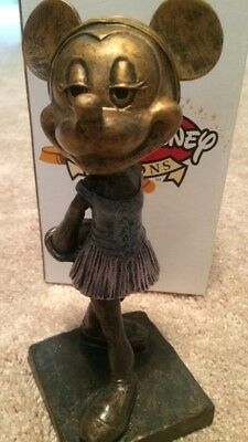 "Walt Disney Auctions Minnie Mouse Limited Edition 350 Statue Figure ""NEW"" RARE!!"