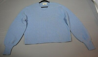 Vintage Robert Bruce Alpaca/Wool V Neck Size L Sweater Designed by Arnold Palmer