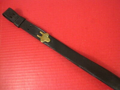 Indian War US Army Model 1873 Springfield Trapdoor Leather Rifle Sling 4th Pat 2