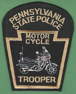 Pennsylvania State Police Motorcycle Unit Patch