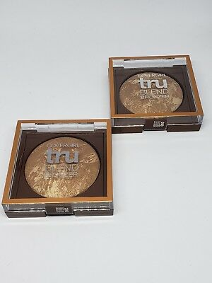 2 CoverGirl truBlend Bronzer, Medium Bronze 200 .1 oz